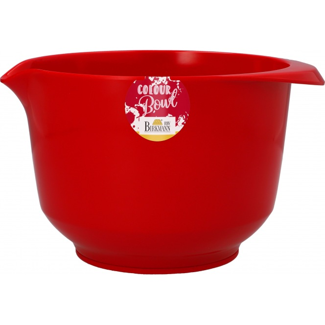 Mixing & Serving Bowl - Red 2L - Birkmann
