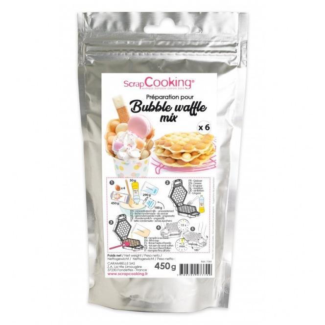 Bubble Waffle Mix - 450g - Scrapcooking