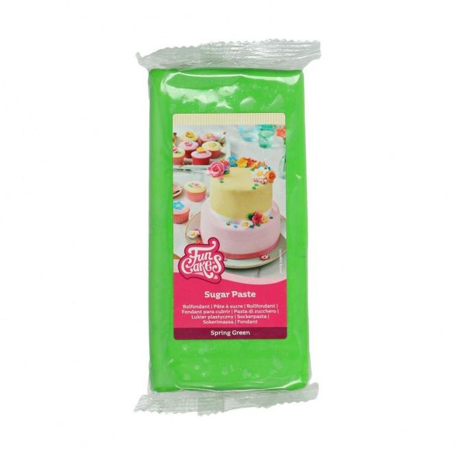 FunCakes Fondant Spring Green -1kg