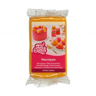 Marzipan Golden Yellow - 250g - FunCakes