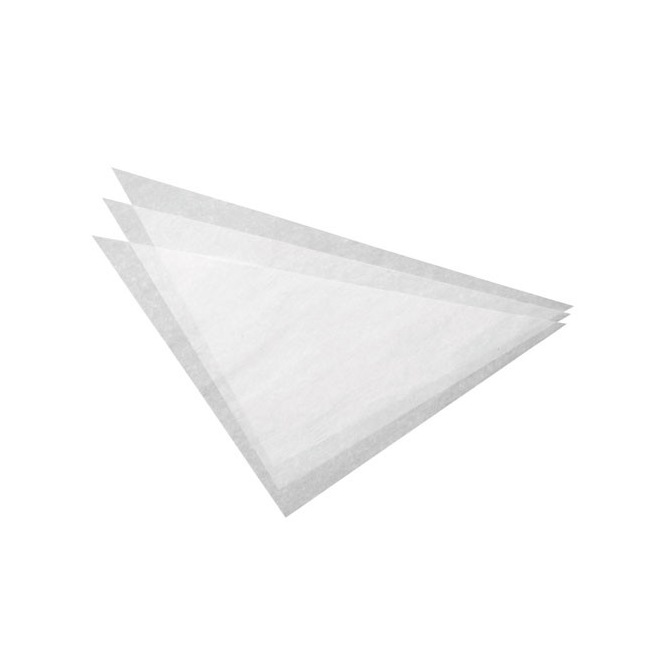 100 parchment triangles - Wilton
